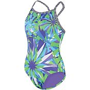 Dolfin Girls' Uglies V2 Back Swimsuit