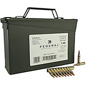Federal XM 5.56 NATO FMJ Rifle Ammunition 420 Round Package – 55 Grain