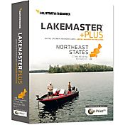 Humminbird Lakemaster Northeast States PLUS Map Card