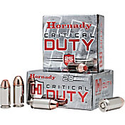 Hornady Critical DUTY Handgun Ammo – 20 Rounds