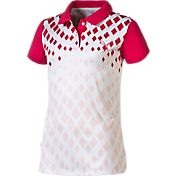 Puma Girls' Diamond Golf Polo