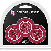 Team Golf Arizona Cardinals Poker Chips Ball Markers - 3-Pack