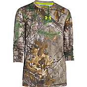 Under Armour Youth Scent Control Tech Long Sleeve Shirt