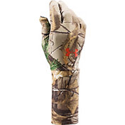 Under Armour Men's ColdGear Camo Liner Gloves