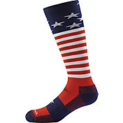 Darn Tough Kids' Captain Stripes JR. Cushion Over-the-Calf Socks