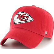 '47 Men's Kansas City Chiefs Red Clean Up Adjustable Hat