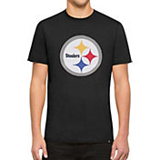 '47 Men's Pittsburgh Steelers Knockout Fieldhouse Applique T-Shirt