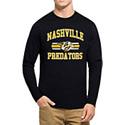 '47 Men's Nashville Predators Club Navy Long Sleeve T-Shirt
