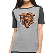 '47 Women's Chicago Bears Empire Grey T-Shirt