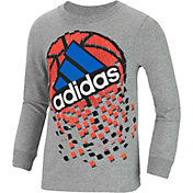 adidas Toddler Boys' Game Shattering Long Sleeve Shirt