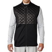 adidas Men's climaheat Prime Quilted Full-Zip Golf Vest