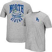 "adidas Men's Chicago Cubs climalite Grey ""North Siders"" T-Shirt"