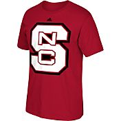 adidas Men's NC State Wolfpack Red Huge Logo T-Shirt