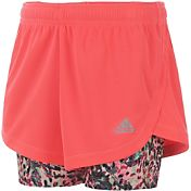 adidas Toddler Girls' Marathon Mesh Shorts