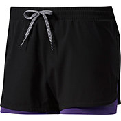 adidas Women's Double-Up Two-In-One Woven Shorts