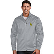 Antigua Men's Baylor Bears Silver Performance Golf Jacket
