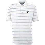Antigua Men's Tulane Green Wave Deluxe Performance White Polo