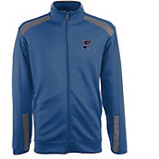Antigua Men's St. Louis Blues Flight Blue Full-Zip Jacket