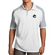 Antigua Men's Vancouver Canucks Century White Polo