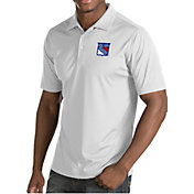 Antigua Men's New York Rangers Inspire White Polo