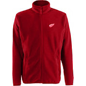 Antigua Men's Detroit Red Wings Red Full-Zip Ice Jacket