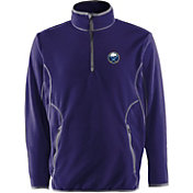 Antigua Men's Buffalo Sabres Navy Quarter-Zip Ice Pullover