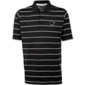 Antigua Men's San Jose Sharks Deluxe Black Polo
