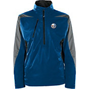 Antigua Men's New York Islanders Discover Royal Half-Zip Pullover Jacket