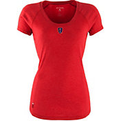 Antigua Women's Real Salt Lake Pep Red T-Shirt