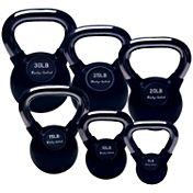 Body Solid KBCS105 Chrome Handle Kettlebell Set