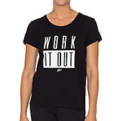 Betsey Johnson Performance Women's Work It Out Swing T-Shirt