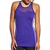 CALIA by Carrie Underwood Women's Support Strap Back Double Layer Tank Top
