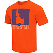 Colosseum Athletics Men's Boise State Broncos Orange State of the Union T-Shirt