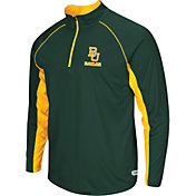 Colosseum Athletics Men's Baylor Bears Green Airstream Quarter-Zip Windshirt
