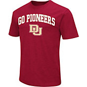 Colosseum Athletics Men's Denver Pioneers Crimson Team Slogan T-Shirt