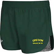 Colosseum Athletics Women's Oregon Ducks Green Runaway Shorts