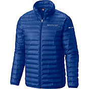 Columbia Men's Kentucky Wildcats Blue Forward Down Jacket