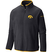Columbia Men's Iowa Hawkeyes Black Fuller Ridge Fleece Jacket