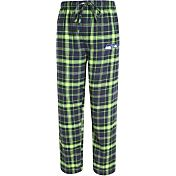 Concepts Sport Men's Seattle Seahawks Ultimate Flannel Navy Pants