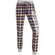 Concepts Sports Women's Minnesota Vikings Purple/Yellow Flannel Jogger Pants