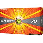 Callaway Superhot 70 Yellow Golf Balls – 15-Pack