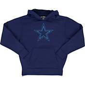 Dallas Cowboys Merchandising Youth Hatfield Navy Pullover Hoodie