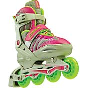 DBX Girls' Equinox Adjustable Inline Skate Package