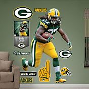 Fathead Eddie Lacy #27 Green Bay Packers Real Big Wall Graphic