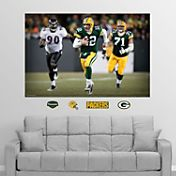 "Fathead Aaron Rodgers ""In Your Face"" Wall Graphic"