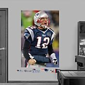 Fathead Tom Brady In Your Face Mural Wall Graphic