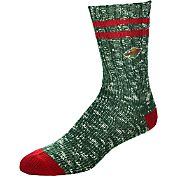 For Bare Feet Minnesota Wild Alpine Socks
