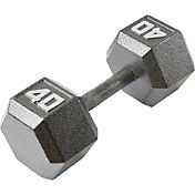 Fitness Gear 40 lb Cast Hex Dumbbell