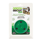 Green Biscuit Snipe Hockey Puck
