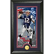 The Highland Mint New England Patriots Tom Brady Framed 'Supreme' Bronze Coin Photo Mint